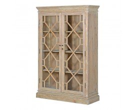 Tall Natural 2 Dr.Bookcase